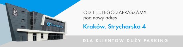 1 lutego Specjalistyczny Serwis Urządzeń Drukujących zmienia lokalizację - Kraków, Strycharska 4
