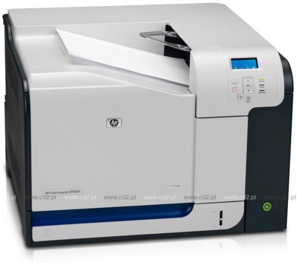 Zarządzanie drukiem - Centrum Druku - HP Color LaserJet CP3525N (CC469A)