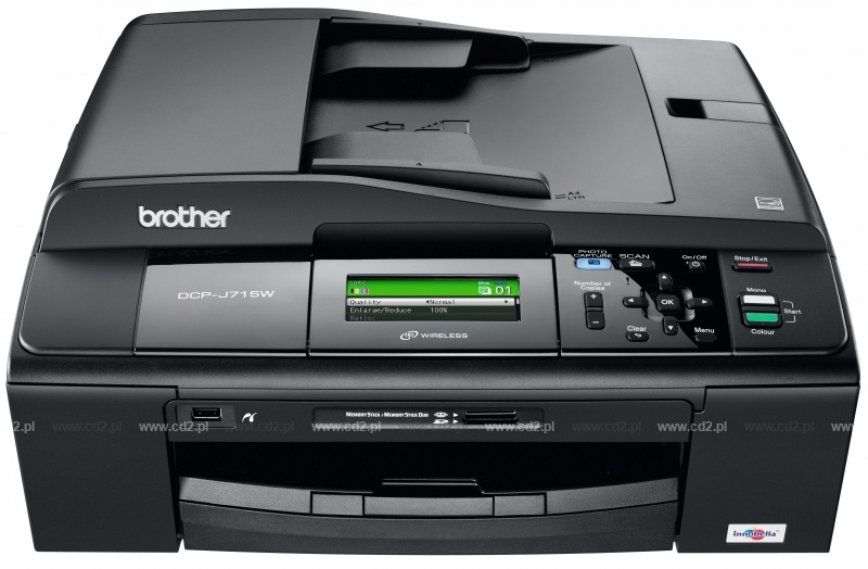 BROTHER DCP-J715W LAN DOWNLOAD DRIVERS